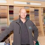 Fergus Brown carpet fitter