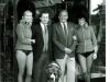 Gary Busby & show girls